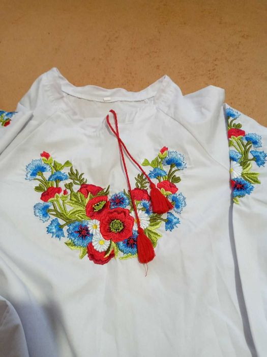 Вышиванка на девочку Фастов - изображение 1