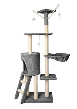 Nowy Drapak dla kota drzewko legowisko Domek 138cm DOSTAWA 0zł DPD