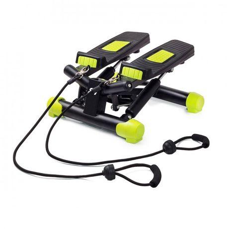 Мини-степпер FitKraft Swing II с эспандерами