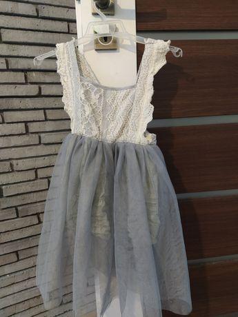 Sukienka dziewczęca 116