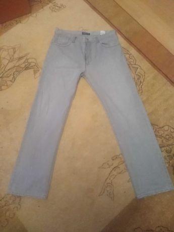 Spodnie jeansy Cerruti XL szare siwe