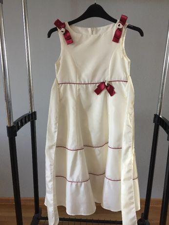 Sukienka dziecięca wizytowa + bolerko