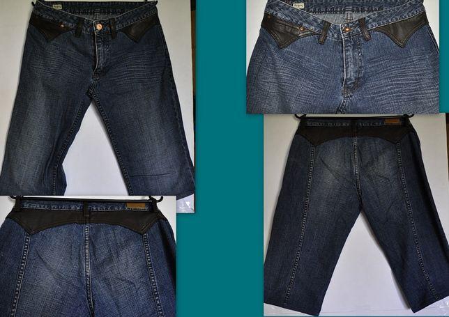 PEPE JEANS NEXT RESERVED zestaw 9 sztuk rybaczków jeans 40/12