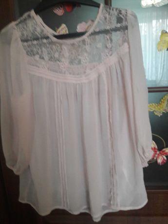 Блуза ніжно-розового кольору