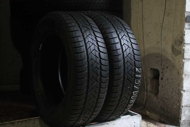 215/60 R16 Pirelli , шины зима, 2 шт, 7 мм, (205/225/55/65)