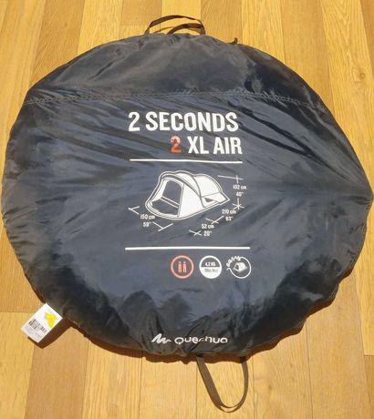 Namiot Kempingowy Dwuosobowy Quechua 2 Seconds, 2 XL AIR - Używany