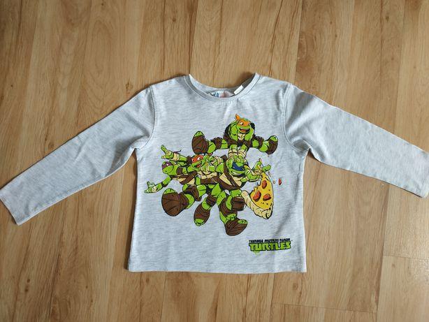 Koszulka, t-shirt z długim rękawem dla chłopca rozmiar 92