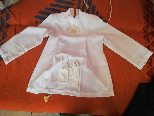 Ubranie komunijne (Alba + spodnie)