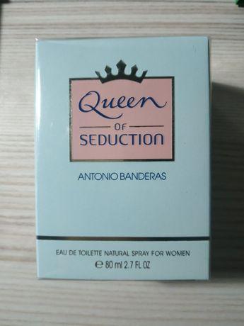 Новая туалетная вода queen of seduction antonio banderas оригинал