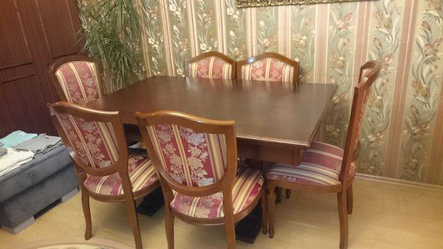 Krzesła Ludwikowskie + stół do jadalni