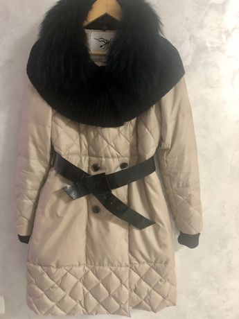 Пуховик куртка пальто S 36р парка