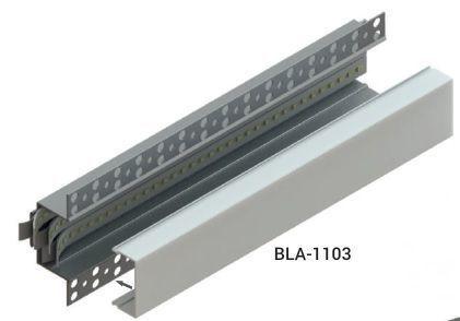Led-профиль встроенный под штукатурку 34*26мм (лэд/лед-профиль) БРАЗ