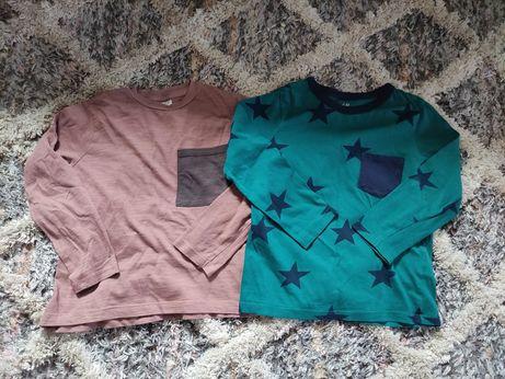 Bluzeczki dla chłopca 104 Zara,h&m