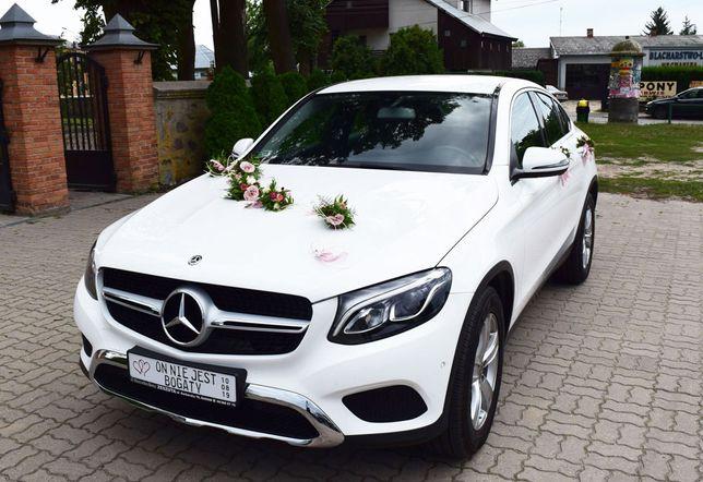Mercedes Benz GLC 250 Coupe samochód auto do ślubu Radom i okolice