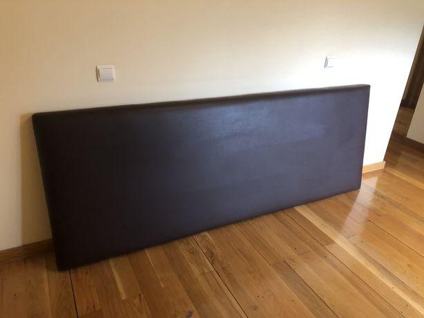 Cabeceira para cama, em castanho, de alta qualidade