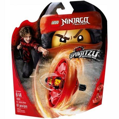 LEGO KLOCKI Kai Mistrz Spinjitzu 70633 Lego Ninjago