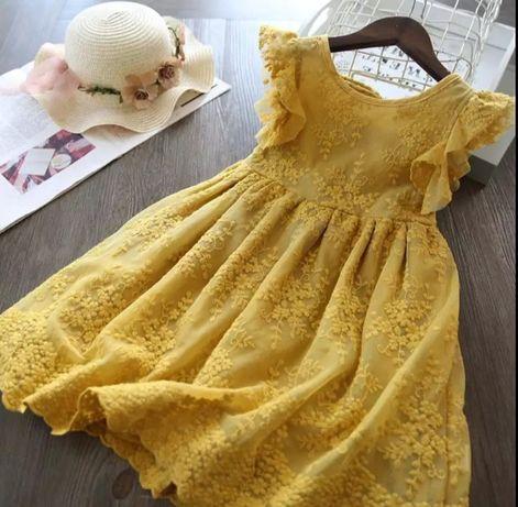NOWA sukienka dla malej modnisi 110