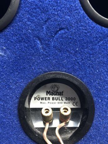 Subwoofer samochodowy Magnat Power Bull 3000, 600W