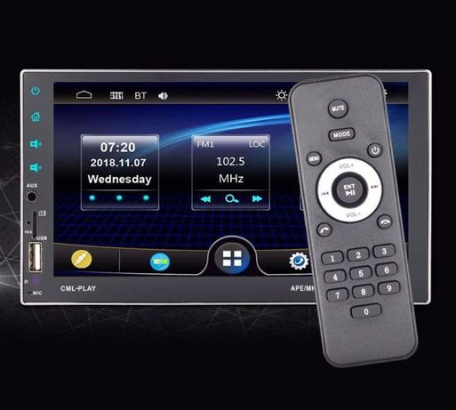 Модная Автомагнитола Pioneer 7701/7702CM, Bluetooth, TF, USB!