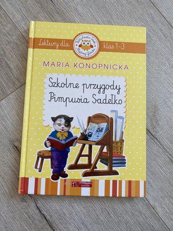 """Książka dla dzieci ,,Szkolne przygody Pimpusia Sadełko"""""""
