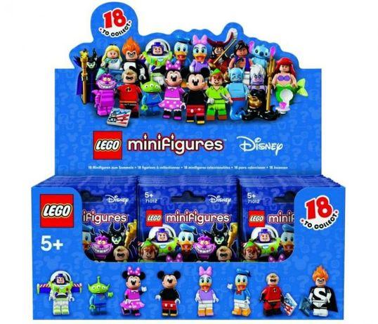 Lego(лего минифигурки дисней)minifigures 71012