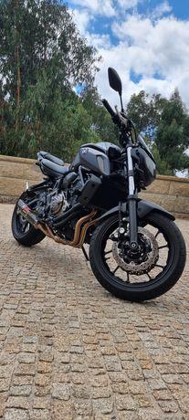 Yamaha MT07.  1294klm