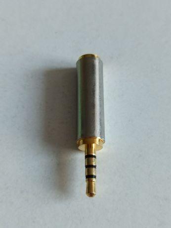 Переходник с 3.5 на 2.5 мм для наушников