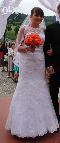 Amy Love suknia ślubna model Alecta koronka!!!