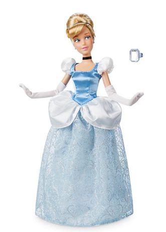 Lalka Disney store Kopciuszek oryginał księżniczka pierścionek tanio