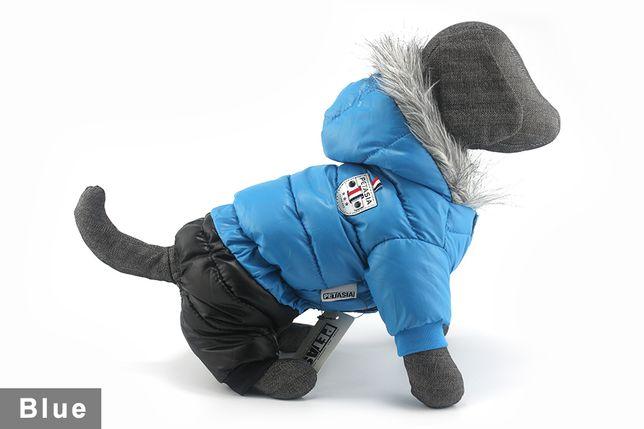 Зимний комбинезоны для собак, водонепроницаемая куртка M