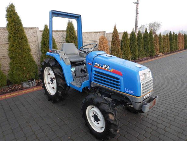 Iseki Sial 23 4x4 23KM mini traktor ogrodowy Kubota Yanmar