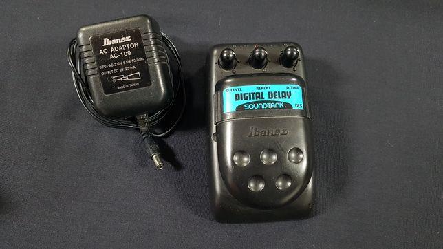 Ibanez DL5 Digital Delay + transformador, Made in Japan