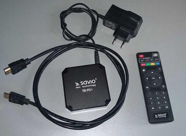Przystawka do telewizora SAVIO Smart TV Box TB-P01