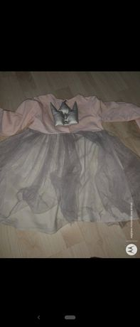 Sukienka księżniczki 110-116