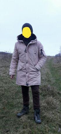 Куртка парка зимная sixth june paris  canada woolrich оригінал