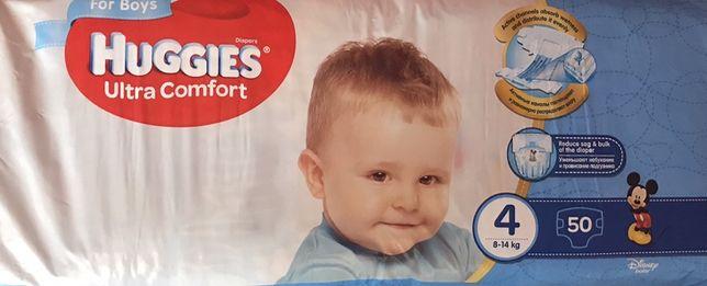 Подгузники, підгузники, Huggies ultra comfort 4, для хлопчиків