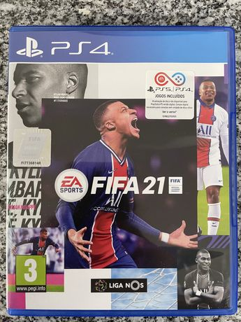Fifa 21 versão Playstation 4