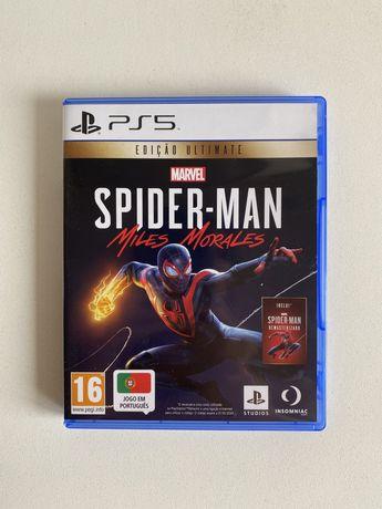 Spiderman Miles Morales PS5 c/ selo IGAC