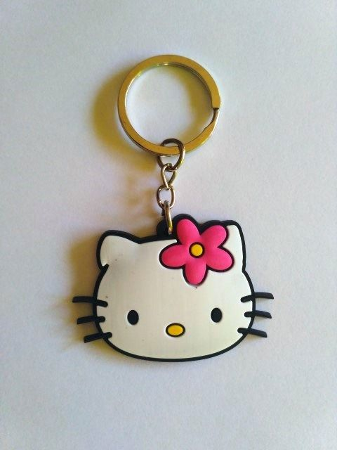 Porta-chaves Hello kitty silicone