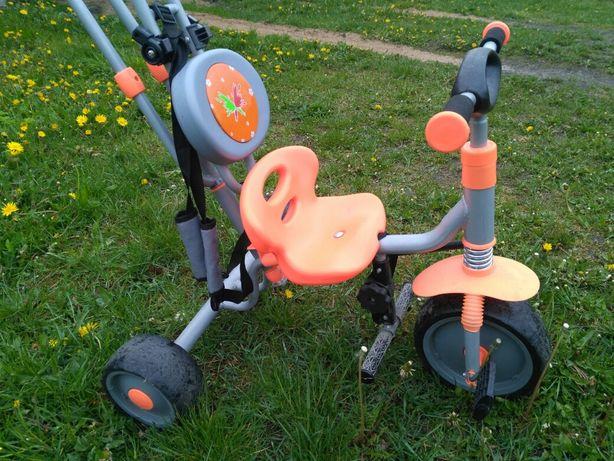 Rowerek trójkołowy jeździk wiek 1 - 4 lata jak firmy Smoby