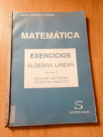 Livro Matemática - Álgebra Linear
