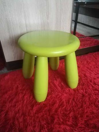 Krzesło, krzesełko, stołek dla dzieci, zielone