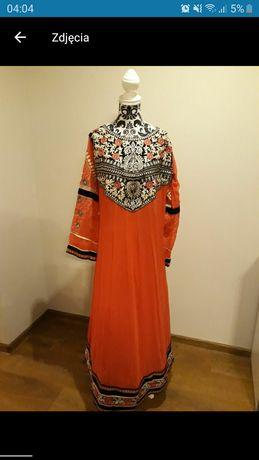 Suknia karnawał bal przebierańców impreza tematyczna