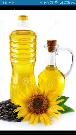 Соняшникова б.у. олія, подсолнечное масло фри