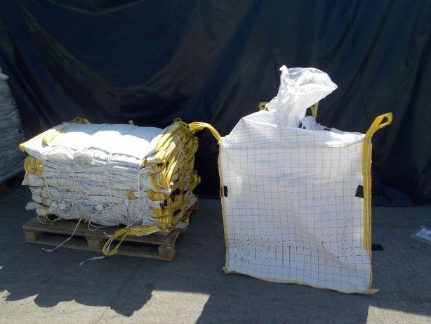 Worki Big Bag z lejem 90x90x130 cm ! Używane Czyste