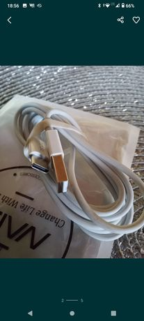 Kabel USB - USB Typ C  1m,1.2m 1.5m - Orginalnie