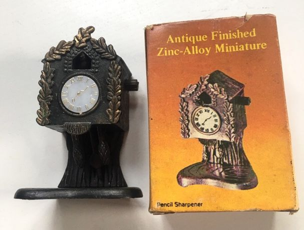 точилка для карандашей часы винтаж