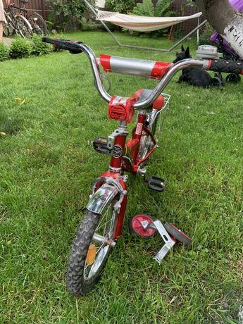 Новый детский велосипед с доп колесами Profi