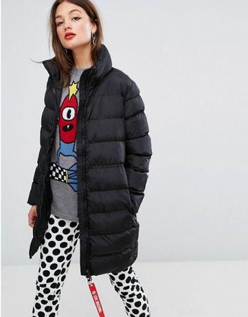Новый пуховик Love Moschino оригинал куртка дутое пальто Москино