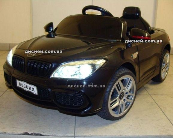 Детский электромобиль 2773 черный BMW, Дитячий електромобiль